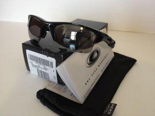 NEW Oakley Half Jacket 2.0 XL Sunglasses Polished Black Black Iridium