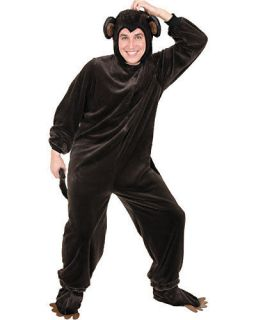 Monkey Plush Brown Jungle Safari Animal Dress Up Halloween Deluxe