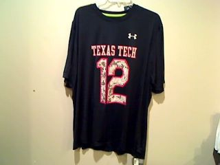 Under Armour HeatGear Texas Tech Wounded Warrior Project Loose Fit