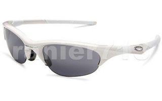 NEW Oakley Half Jacket Sunglasses Pearl/Black Iridium Asian
