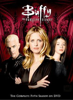 buffy the vampire slayer season 5 in DVDs & Blu ray Discs