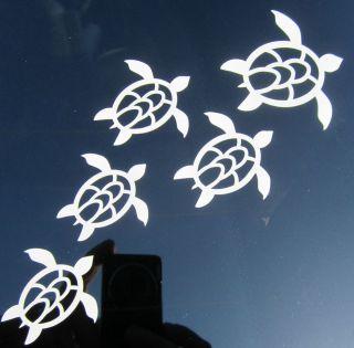 turtles family nautical Vinyl decal sticker waterproof surf surfing