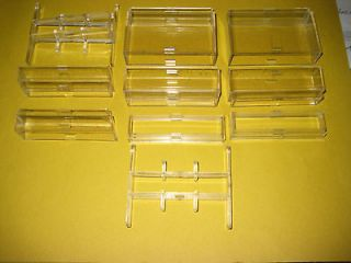 10 Piece Clear Plastic Spacer Set Kit for Flowbee Haircutting System