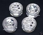 Tamiya CR01 2 2 Crawler Tires Aluminum Beadlock wheels