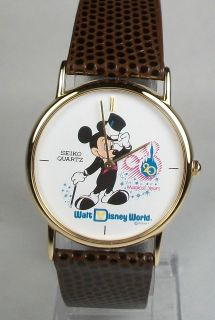 mens seiko mickey mouse watch in Jewelry & Watches