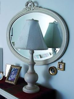 Ethan Allen Oval Swedish Mirror $479 Retail