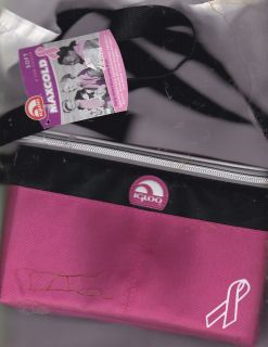 IGLOO MAXCOLD SOFT 6 CAN COOLER PINK AND BLACK WITH BREAST CANCER