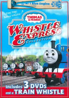 Thomas Friends Whistle Express Collection DVD, 2008, 3 Disc Set, with