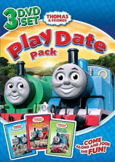 Thomas Friends Play Date Pack DVD, 2011, 3 Disc Set