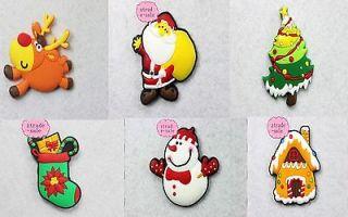 Fridge/Refrigerator Magnets Cute Soft Rubber Christmas Tree Santa For
