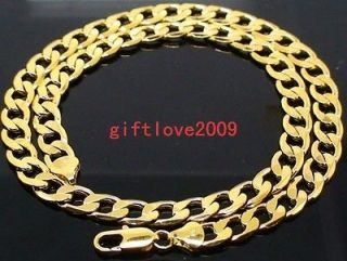 thick gold chain necklace in Mens Jewelry