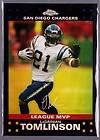 2001 Topps Football Complete Set NFL HOF LaDainian Tomlinson Rookies