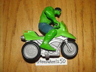 Incredible Hulk Zoom N Go Chopper Trike Action Figure ATV Motorcycle