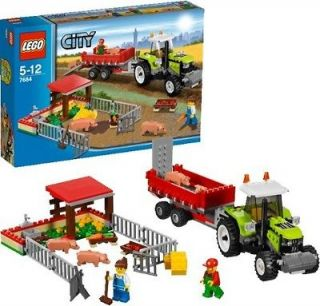 LEGO City 7684 Pig Farm & Tractor BRAND NEW SEALED!