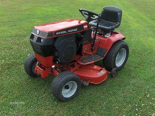 Toro Wheel Horse 315 8 garden tractor 42 deck 42 snowthrower 314