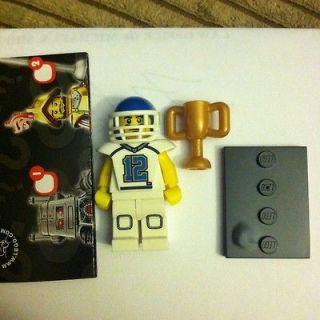 LEGO 8833   SERIES 8  MINIFIGURES   Football Player   2012   NEW