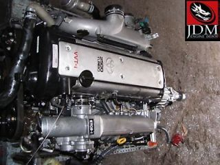 JDM TOYOTA CHASER VVTI TURBO ENGINE AND TRANSMISSION JDM 1JZGTE 1JZ
