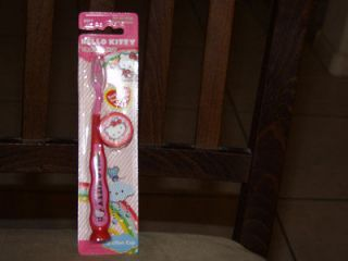 HELLO KITTY TRAVEL TOOTHBRUSH KIT AND CAP NEW/SEALED GREAT GIFT 1 cent