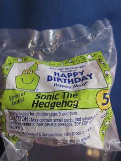 McDonalds 1994 Happy Meal Toy Sonic The Hedgehog #5
