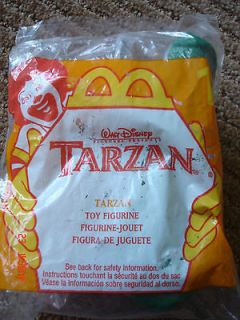 tarzan mcdonalds toys in Fast Food