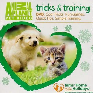 Cat / Dog Tricks & Training DVD ~ Great Stocking Stuffer #1