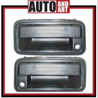 Set Outside Outer Door Handle Chevy GMC Pickup Truck SUV Aftermarket