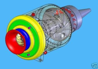 BUILD MINI TURBINE JET ENGINE PLANS CAD READY 01