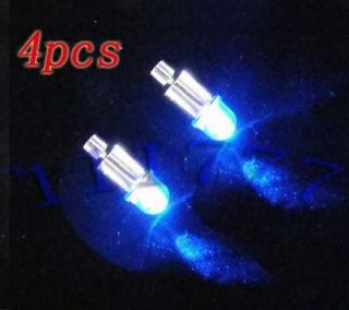 Car Tyre Wheel Blue Neon LED Valve Cap Stem Lights