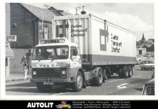 1977 Volvo F86 Tractor Trailer Truck Photo