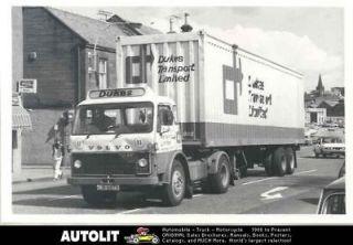 1977 Volvo F86 Tractor Trailer Truck Photo