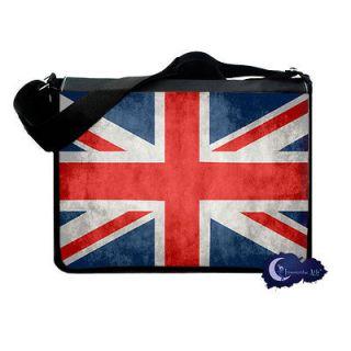 Union Jack   British Flag Messenger & Laptop Bag