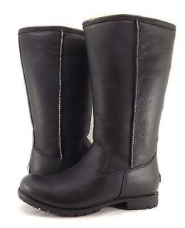Womens Shoes UGG AUSTRALIA BROOKS TALL II WATERPROOF LEATHER BOOTS