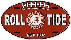 University of Alabama BAMA Oval License Plate
