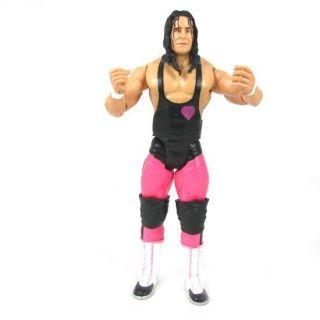 57K WWE WWF Wrestling Bret Hitman Hart figure + belt