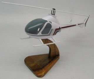 Rotorway Exec 90 Helicopter Desk Wood Model Large FS