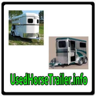Used Horse Trailer.info WEB DOMAIN FOR SALE/FARM CATTLE TRANSPORT