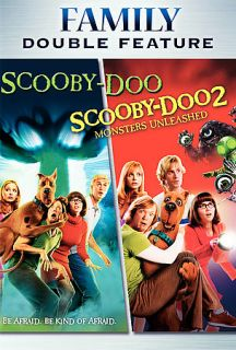 Scooby Doo The Movie Scooby Doo 2 Monsters Unleashed DVD, 2006