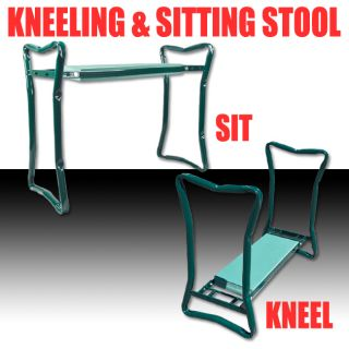 Newly listed Portable Folding Garden Kneeling Sitting Knee Stool Chair