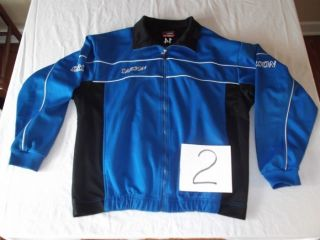 Blue Zipper Track Soccer Warm Up Athletic Jacket Philippines NEW
