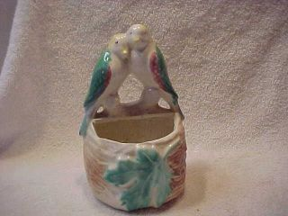 parrot wall pocket in Pottery & Glass
