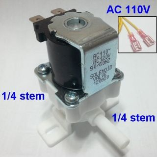 Water solenoid valve Flow control valve for high pressure AC 110V 1/4