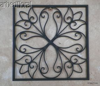 Faux Wrought Iron Wall Decor On Popscreen