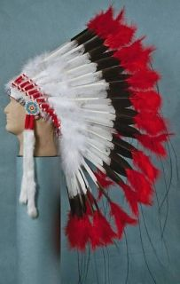 Craft supply KIT Ameri Indian Deluxe War Bonnet Headdress
