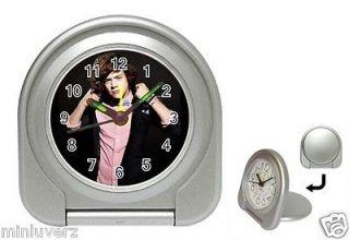 1D One Direction Harry Styles Zayn Liam Travel Alarm Desk Clock