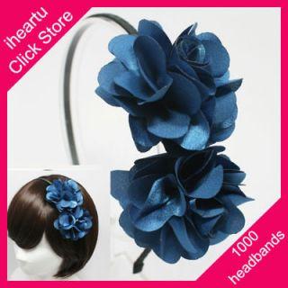 FLOWER HEADBAND HAIR BAND ACCESSORY CLIP HAT BOW HB1300