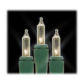 mini lights   clear bulbs   green wire   wreaths, crafts, bottles