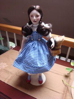 franklin mint wizard of oz dolls in Franklin Mint