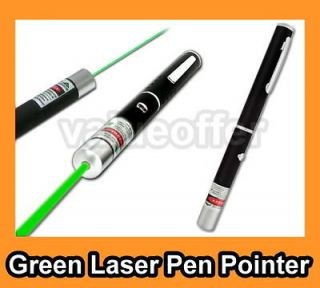 5mW 532nm Astronomy Mid open Green Beam Light Laser Pointer Pen Class