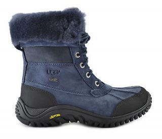 UGG Australia Adirondack Boot II Womens Winter Sheepskin Imperial Blue