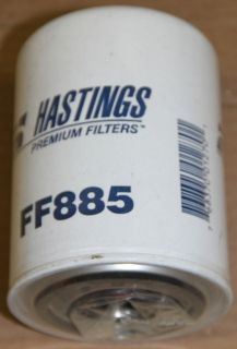 Fuel Storage Tank Spin On Water Absorbent Filter FF885 Hastings New